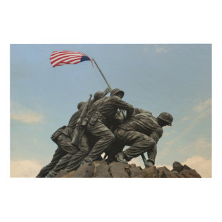 Impresión En Madera Monumento de Iwo Jima en Washington DC