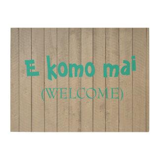 Impresión En Madera Muestra de madera (agradable) del AMI de E Komo