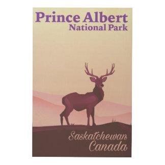 Impresión En Madera Parque nacional del Príncipe Alberto,