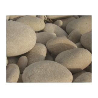Impresión En Madera Piedras en fotografía