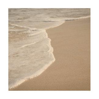 Impresión En Madera Playa de Sandy