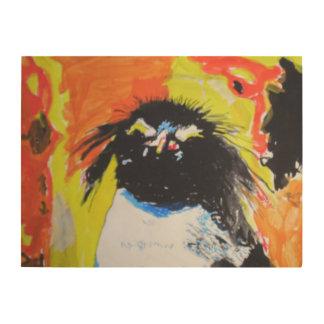 Impresión En Madera Pop especie Penguin