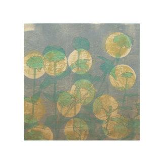 Impresión En Madera Proyector I floral