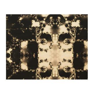 Impresión En Madera Soporte de la pared de la sepia