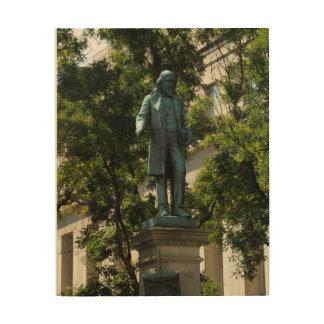 Impresión En Madera Un monumento de Washington