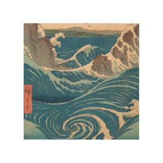 Impresión En Madera Utagawa Hiroshige Naruto Whirlpool