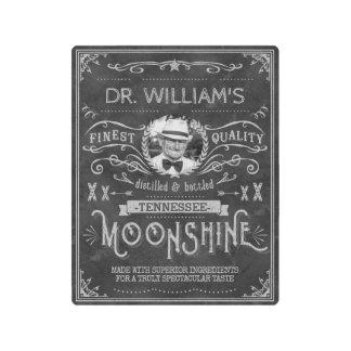 Impresión En Metal Gris de encargo del vintage de la medicina del