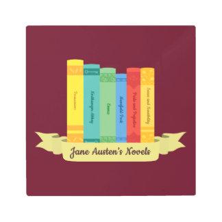 Impresión En Metal Las novelas de Jane Austen III