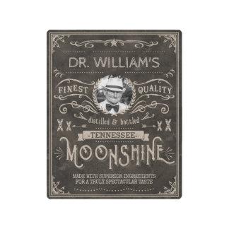Impresión En Metal Personalizado Brown del vintage de la medicina del