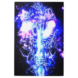 Impresión En Metal Sueños parisienses iridiscentes del th unos que