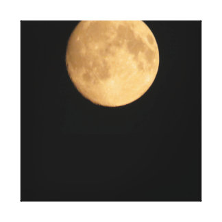 Impresión enorme de la luna