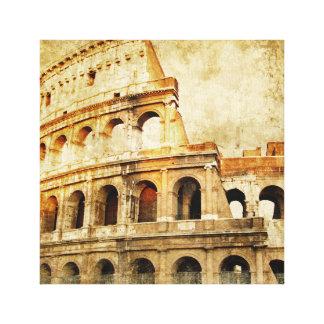 Impresión envuelta de la lona - motivo romano