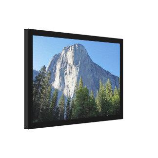 Impresión envuelta Yosemite de la lona del EL Capi Impresión En Lona Estirada