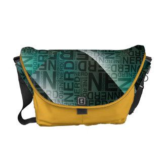 Impresión exterior de la bolsa de mensajero media  bolsas de mensajería