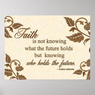 Impresión - fe: Quién lleva a cabo el futuro