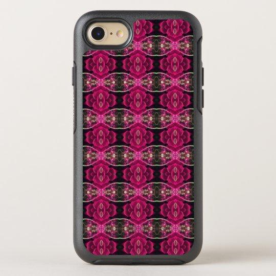 Impresión floral alternativa de la ilusión de la funda OtterBox symmetry para iPhone 7