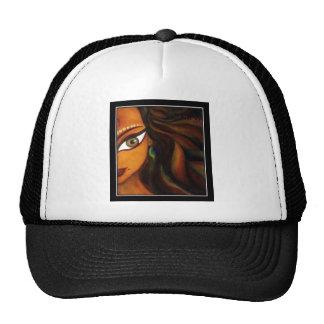 Impresión india del arte gorra
