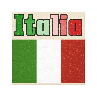 Impresión italiana de la lona de la bandera