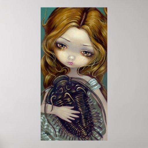 Impresión lowbrow del arte de la fantasía de Trilo