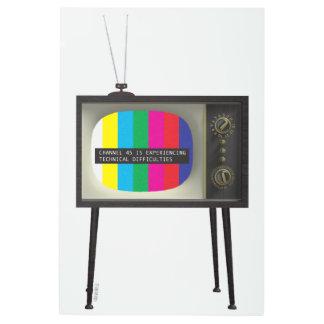 Impresión metalizado del canal 45