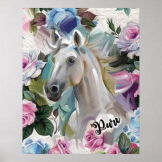 """Impresión """"pura"""" del arte del caballo"""