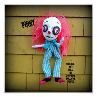 Impresión rosada rosada de la muñeca del arte del impresiones fotográficas