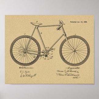 Impresión sin cadena 1899 del arte de la patente