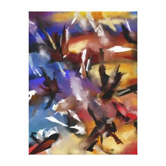 """Impresión sobre tela, """"Abstract 1.1705 """""""