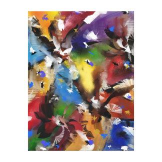 """Impresión sobre tela, """"Abstract 2.1705 """""""