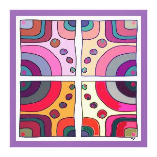 Impresión sobre tela extra grande, Bubble Gum Arte