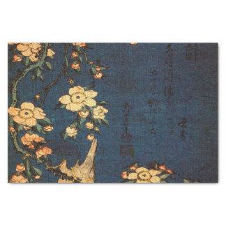 Impresión tradicional del papel japonés del