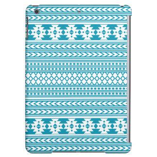 Impresión tribal azteca de moda Pattern|Blue