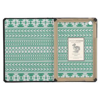 Impresión tribal azteca de moda Pattern|Green