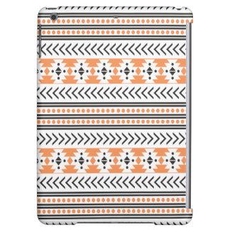 Impresión tribal azteca de moda Pattern|Orange