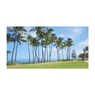 Impresión tropical de la lona de la playa