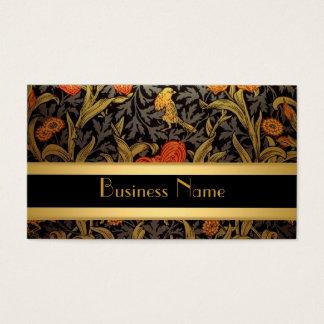 Impresión William Morris del vintage de la tarjeta
