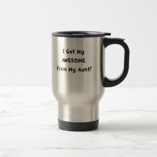 Impresionante de tía taza de viaje
