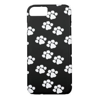 Impresiones de la pata del animal de mascotas funda iPhone 7