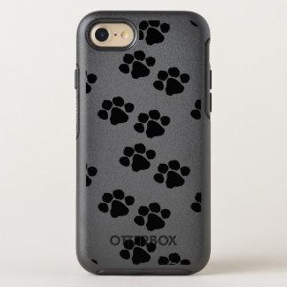 Impresiones de la pata para los dueños del mascota funda OtterBox symmetry para iPhone 8/7