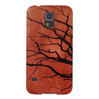 Impresiones fantasmagóricas de Halloween del árbol Funda Galaxy S5