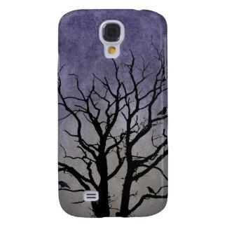 Impresiones fantasmagóricas de Halloween del árbol Samsung Galaxy S4 Cover