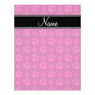 Impresiones rosadas conocidas personalizadas de la tarjetas publicitarias