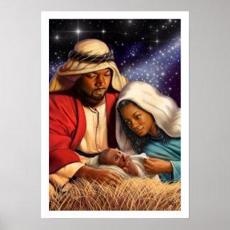 Impresiones santas afroamericanas del arte de la