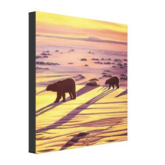 Impresiones y posters de la pintura del oso polar