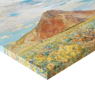 Impresionismo del vintage, mota de Sand Springs, Impresión En Tela