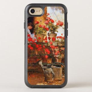 Impresionismo rojo de la bella arte de los funda OtterBox symmetry para iPhone 8/7