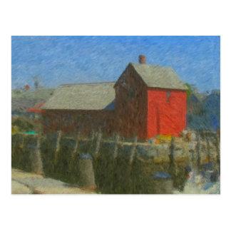 Impresionista del adorno #1 postal