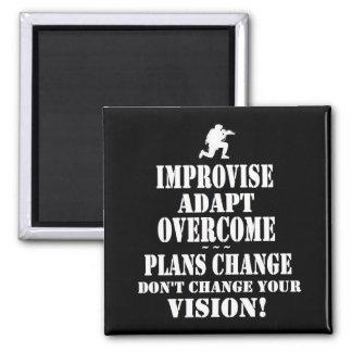 Improvise superado se adaptan imanes