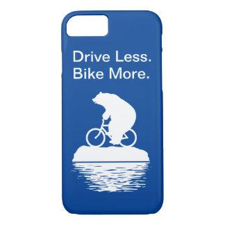 """Impulsión del oso polar """"menos. Bike más."""" caso Funda Para iPhone 8/7"""