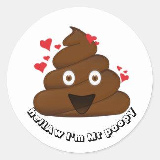 Impulso del smiley del pegatina de Emoji